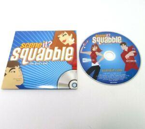 2006 Scene It Squabble Game Replacement Parts Pieces- DVD