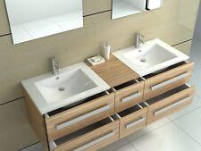 Lavabo modelo especial baño muebles oscuros de madera de la cebra de Zurich II