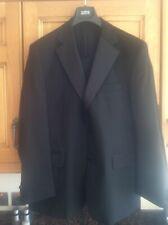 Men's M&S Black Dinner Tuxedo Suit Jacket 44R Trousers 38W 31L Wool Blend Washab