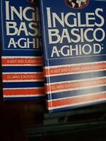 DOS (2) EJEMPLARES!!!!!! Ingles Basico (ghio)/basic English by Agusto Ghio D.