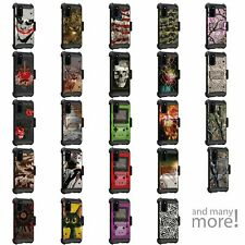 For Samsung Galaxy S20 (6.2) Triple Layer Holster Belt Clip Case