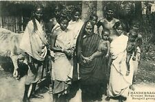 Carte INDE CHANDERNAGOR Groupe Bengali