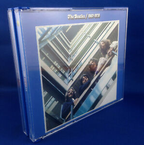 THE BEATLES: 1967-1970 BLUE ALBUM (NEW RARE 1993 AUSTRALIAN 1ST PRESS 7970362)