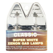 H7 Classic Car più luminoso Super Bianco Gas Xenon per Fari Lampade 12 V 55 W Twin Pack