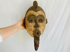 Kwele Mask. Gabon Africa . African Mask. 19th Century