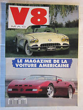 V8 N° 12 /CHEVY PICK-UP 3100/OLDSMOBILE COUPE 1948/CORVETTE 59/PLYMOUTH CUDA 440