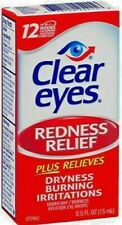 2 Pack of Clear Eyes Redness Relief Eye Drops 0.5oz 678112254156a289