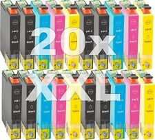 20 cartuchos tinta NonOem XL para Epson xp30 xp312 xp315 xp402 xp405 xp412 xp415