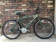 VINTAGE NISHIKI BLAZER 21 SPEED GREEN/BLACK MOUNTAIN BICYCLE
