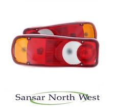 Fit's Nissan NV400 Pair Of Rear Lamps Tail Light Lights  Incl. LEFT & RIGHT