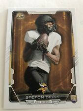 2015 Bowman Rookie #R50 Vikings Stefon Diggs RC. Hot Hot Rookie Card !!!!!
