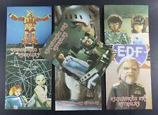 1980 Jin & Dinamics SET OF 7 X-BOMBER SCHOOL NOTEBOOKS Portuguese vintage VHTF
