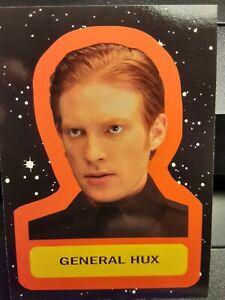 2017 Topps Star Wars Journey to The Last Jedi STICKER INSERT Card GENERAL HUX