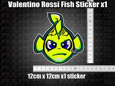 Valentino Rossi Fish Decal Sticker x1 helmet bike car scooter laptop 46 agv GP