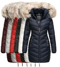 Navahoo Damen Winter Jacke Steppmantel Gefüttert Parka Steppjacke Kapuze Nimalaa