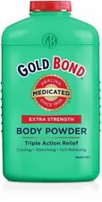 Gold Bond Extra Strength, Triple Action Relief Medicated Body Powder, 10 Oz.