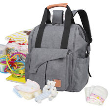 2017 Fashion Large Mummy Maternity Nappy Diaper Bag Baby Bag Travel Backpack
