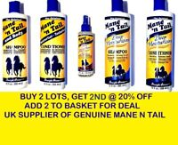 Mane 'n Tail and Body Shampoo Conditioner Strengthener Original Hair Products