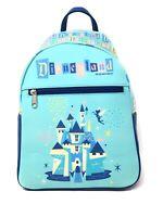 2020 Funko Disneyland Resort 65th Anniversary Mini Backpack Castle W/ Tinkerbell
