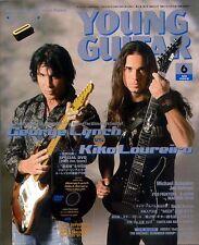 Young Guitar Jun/08 George Lynch Kiko Angra Megadeth Kotzen Schenker
