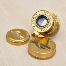 INDUSTAR Sonderanfertigung Objektiv 1:3,5 50mm GOLD Leitz Elmar Made in USSR