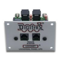 Digitrax 2020 UP5 LocoNet Universal Interconnect Panel  * 3 Rear LocoNet Jacks