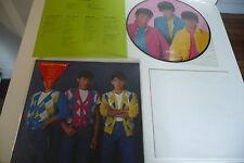 SHIBUGAKITAI LP PICTURE DISC THANKS. JAPAN PRESS ASIAN BOYS BAND J POP.