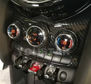 AU STOCK X1 For MINI Cooper F55 F56 F57 CARBON Effect Center Console Panel Cover