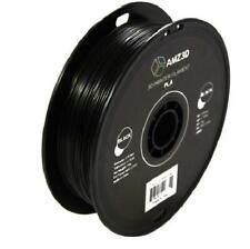 Impresora 3d 175mm Negro PLA Filamento 1kg Carrete 2 2 libras precisión dimensional