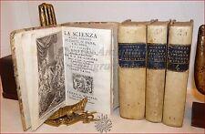 De CHEVIGNI: SCIENZA DELLE PERSONE DI CORTE DI SPADA E TOGA 4 voll 1742, TAVOLE