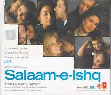 Salaam-e-Ishq Soundtrack  Bollywood Hindi 2CD  FASTPOST