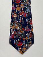 Where's Waldo Men's Tie Necktie Blue Red Formal Ball Dance Gowns 1992