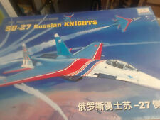 SU-27 Russian Knights 1/48 scale Mini Hobby model kit