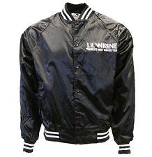 Lil Wayne America's Most Wanted Tour Men Varsity Jacket Large