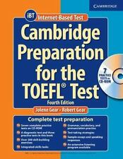 Cambridge Preparation for the TOEFL Test by Jolene Gear (2006, CD-ROM /...