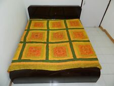 PATCH  WORK KING SIZE BEDDINGS BED COVERS BEDSPREADS THROWS TAPESTRY