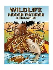 Wildlife Hidden Pictures (Dover Children's Activity Books) Free Shipping