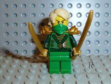 LEGO ® Ninjago personaggio Lloyd ZX con 2 armi dalla Set 70722 Merce Nuova