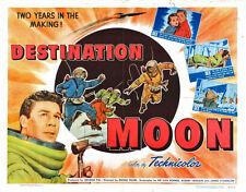 """Destination Moon Poster Replica Print 14 x 11"""""""