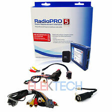 Radio Replacement Interface Rear System Retain SWC NON NAV for GM & Chevy