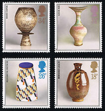 GB (1192 1195) 1987 POTTERY - MINT Set of 4 - PO FRESH!