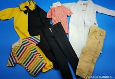 Ken Doll Mixed Clothing Lot #2 Excellent Played With ~ Vintage 1960's