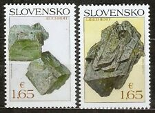Slovakia 2018 Pofis 669-70 ** Minerals