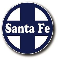 Santa Fe Vintage Railroad Railway Car Window Decal Bumper Vinyl Sticker