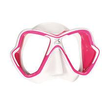Mares X-Vision Ultra Liquidskin Scuba Diving Snorkeling Mask Pink/White