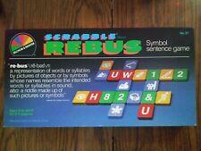 SCRABBLE REBUS SELCHOW & RIGHTER 1986 EDITION