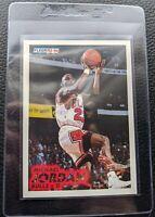 1993 94 FLEER #28 MICHAEL JORDAN CHICAGO BULLS HOF MINT