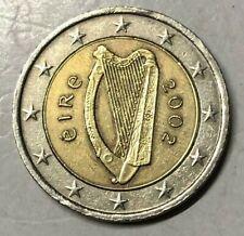 2 EURO IRLANDA 2002 - ARPA CELTICA - UNIFICATO 8.02 - CC -