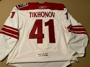 Victor Tikhonov Phoenix Coyotes 2008-09 Set 1 Game-Worn Jersey with Team LOA