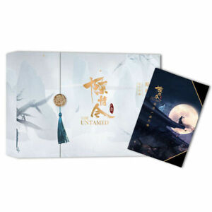 The Untamed Official Genuine Art Picture album Yibo Xiao Zhan Gift Box